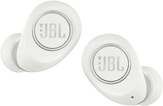 Amazon Com Jbl Free Truly Wireless In Ear Headphones White Electronics