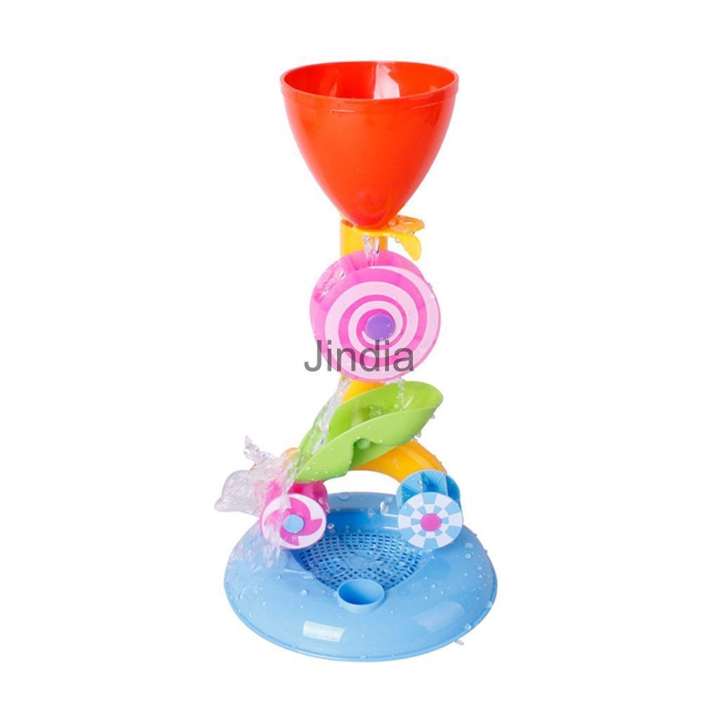MIJORA-New Toy Hourglass Sand & Water Wheel Beach Box Sea Outdoor Fun Play for Kids