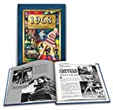 img - for 1968 What A Year It Was: 50th Birthday or Anniversary Hardcover Coffee Table Book book / textbook / text book
