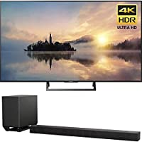 Sony KD55X720E 55 4K X-Reality PRO HDR Ultra HD TV 3840x2160 & Sony HTST5000 7.1.2Ch 4K HDR Compatible 800W Dolby Atmos Soundbar