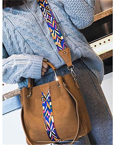Donna Morbida Tracolla Borsa Tote Borse Rivet Donna Borsette Women Bags Shoulder Verde Single A Brown Handbag Mjfo Bag OqS6ZPfnn