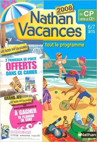 Livres gratuits en ligne Nathan vacances du CP vers le CE1 pdf, epub