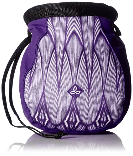 Prana Chalk Bag (prAna Women's Large Chalk Bag with Belt, Violet Feather, One)