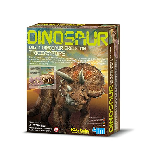 Great Gizmos 4M Kidz Labs Dig a Dinosaur Triceratops by Great Gizmos
