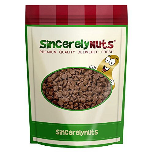 Sincerely Nuts Carob Chips - Two Lb. Bag - Outrageous Tastiness - Irresistible Freshness - Caffeine Free - Rich in Fiber - Kosher Certified!