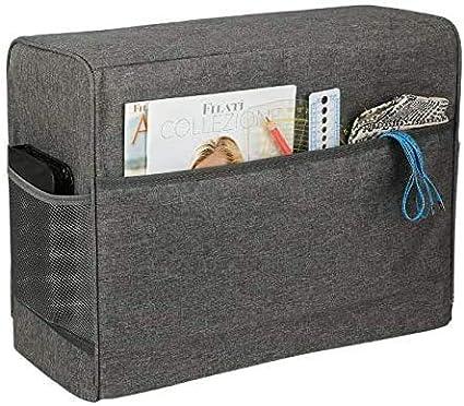 Bolsa para máquina de coser, bolsa para máquina de coser, bolsa de transporte y bolsa de almacenamiento, para todo tipo de máquinas de coser domésticas, 17 x 7,5 x 13 pulgadas (gris).