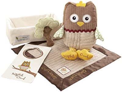 Baby Aspen My Little Night Owl 5-piece Baby Gift Set by Baby Aspen