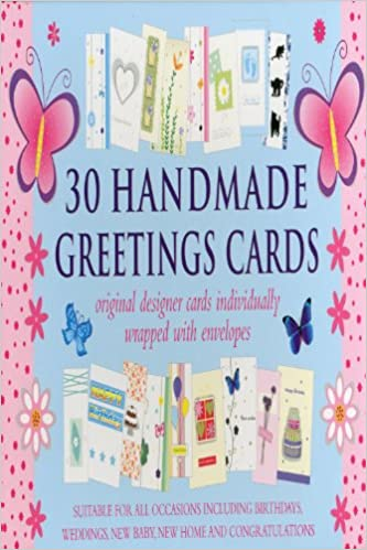 Buy 30 Handmade Greetings Cards Book Online At Low Prices In India