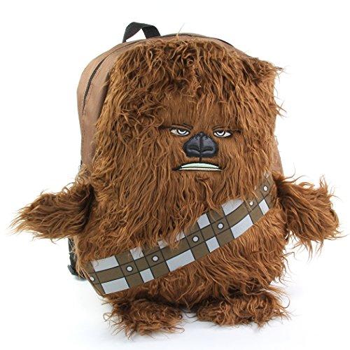 Star Wars Disney Chew Bacca 3D Plush Furry Arms & Legs Boys Brown 16