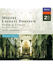Mozart: Laudate Dominum / Vespers & Litanies