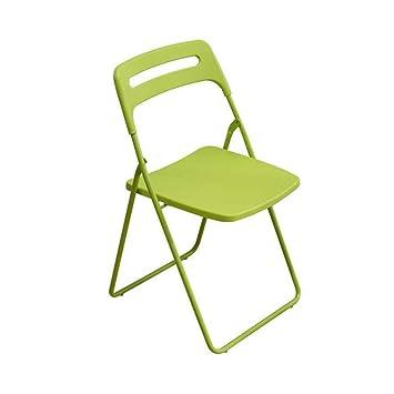 LLYU Chaise Pliante Home Retour Simple Chambre Etudiant Bureau Style IKEA A Manger