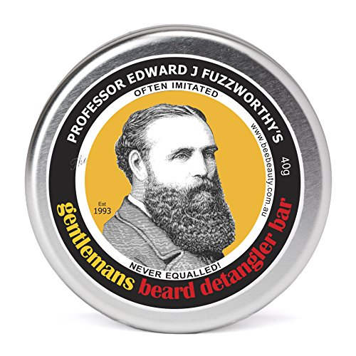 Professor Fuzzworthy's Beard CONDITIONER Detangler | All Natural | Chemical (Simply Thick Honey)