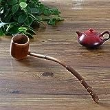 Wall of Dragon Handmade Natural Bamboo Tea Water Spoon Extra Long Handle Wood Scoop