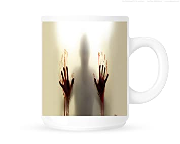 Horror Gift Hands Ideal Mugcup Present The Zombie Not Glass Gamer On Dead Bloody Teacoffee Design Inspired This Mug Does Walking Ib6f7gyvY