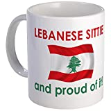 CafePress %2D Proud Lebanese Sittie %28G