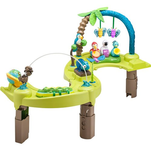 Evenflo ExerSaucer Triple Fun - Jungle (Discontinued by ...