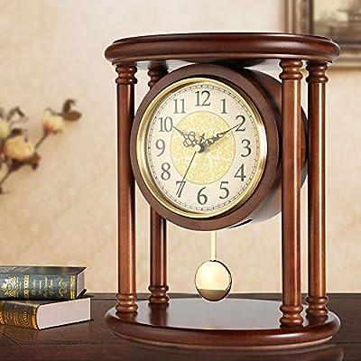 Reloj de mesa de escritorio, relojes de repisa Acabado Reloj de ...