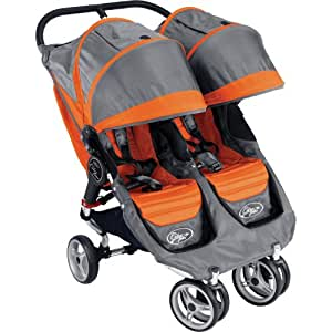 Baby Jogger 2011 City Mini Double Stroller, Orange/Gray (Discontinued by Manufacturer)