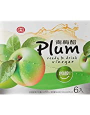 Shih Chuan Plum Vinegar Drink Plum, 6 x 140ml