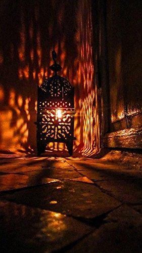 LAMINATED POSTER Mosaic Oriental Arabic Lamp Morocco Moorish Light (Moorish Mosaic)