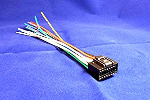 51YUU9QkWQL._SX300_ amazon com 16 pin kenwood kdc x993 player wiring harness kenwood kmm-bt312u wiring diagram at creativeand.co