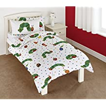 The Very Hungry Caterpillar Junior Duvet Cover and Pillowcase Set