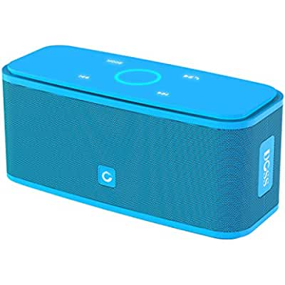 DOSS SoundBox Bluetooth 4.0 Portable Wireless speaker,Superior Sound quality with a powerful Subwoofer,sensitive...