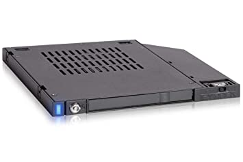 Icy Dock flexiDOCK MB511SPO-1B Rack extraíble HDD/SSD SATA para bahía Ultra Slim ODD (9,5mm de Alto)