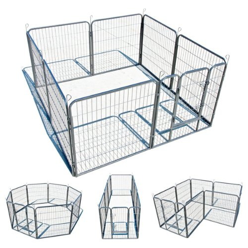 My1stPet Panels Exercise Playpen Hammertone