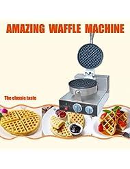 Electrical FY 1 Round Shape Waffle Iron Muffins Making Machine Baker 110V