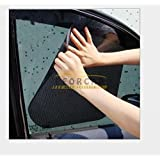 EFORCAR(R) 2PCS/1Pack 38*42cm New Car Curtain Windshield Stickers Sun shade UV Protection Car Side Window Film