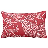 Zazzle French Country Red Mojo Throw Pillow 13'' x 21''