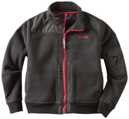 Tommy Hilfiger Big Boys' Long Sleeve Full Zip Kevin Polar Fleece Jacket