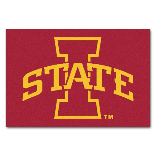 - FANMATS NCAA Iowa State University Cyclones Nylon Face Starter Rug
