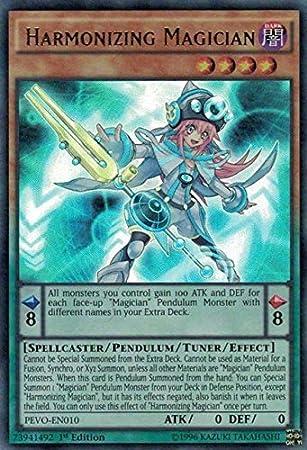 Harmonizing Magician 1st Edition Ultra Rare PEVO-EN010 Yu-Gi-Oh!