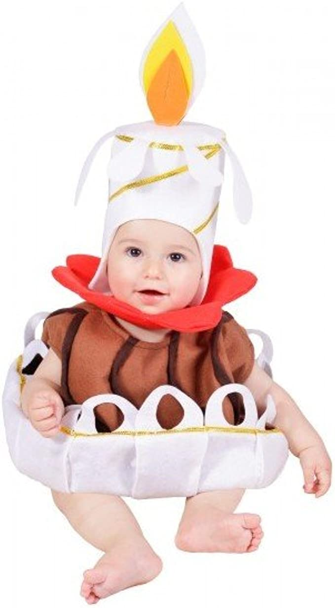 Disfraz de tarta de cumpleaños para bebé - 10 meses: Amazon.es ...