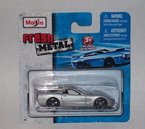 Maisto Fresh Metal Die-Cast Vehicles ~ 1997 Chevrolet Corvette (Fresh Metal)