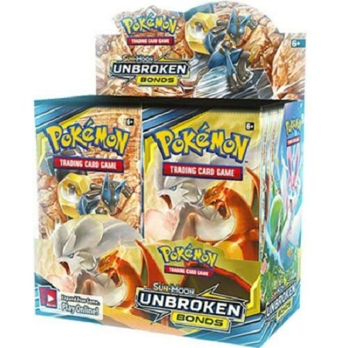 Pokemon TCG: Sun & Moon Unbroken Bonds Booster Box ()