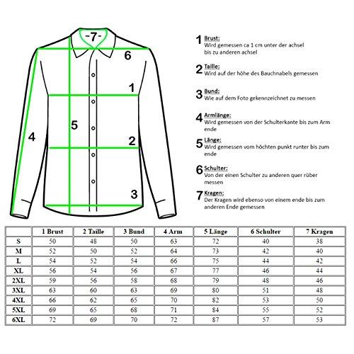 Slim Chemise Longues À Coupe Homme Baxboy Vert Pour Manches Pq6440R