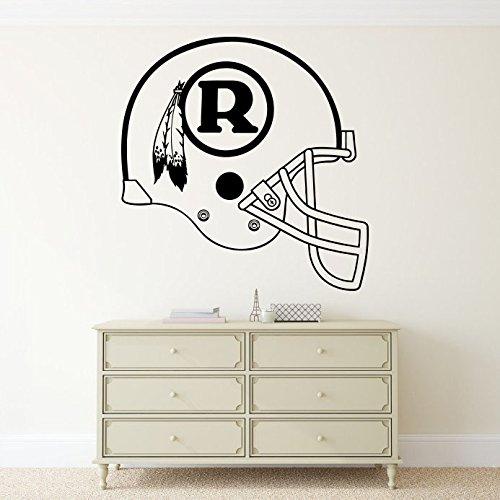 Washington Redskins Football Helmet Vinyl Decal Sticker Wall NFL Emblem Logo Sport Home Interior Removable Decor (24