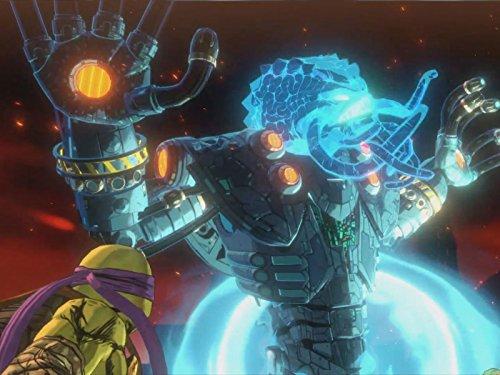 Clip: Mega Kraang (Teenage Mutant Ninja Turtles Kraang Prime Toy)
