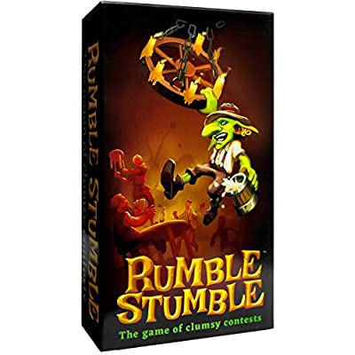 Rumble Stumble Party Game for Active, Hilarious Fun with Family, Friends, Kids, and Adults!: Toys & Games
