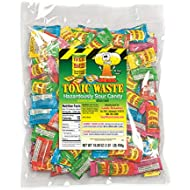 Toxic Waste - Hazardously Sour Candy, 5 Assorted Flavors ~ 1 pound bag