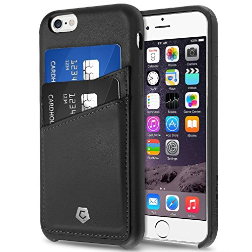 iPhone 6S Case, Cobble Pro Premium Handcrafted [Ultra Slim] Leather Back Case Cover with ID Credit Card Slot Holder for Apple iPhone 6S / iPhone 6 (4.7