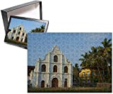 Photo Jigsaw Puzzle of Church of our Lady of Hope, Vypin Island, Cochin, Kerala, India, Asia