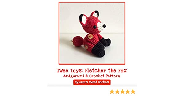 Fredric the Fox Free Amigurumi Pattern | Jess Huff | 315x600