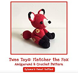 Amazon com: Fletcher the Fox - Amigurumi Crochet Stuffed
