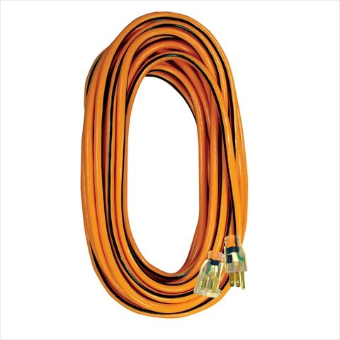 Voltec 05 – 00343 100 ft。延長コードwith Lighted ends44 ; 3線コネクタ – オレンジ& black44 ;ケースの3 B0184LNN1O