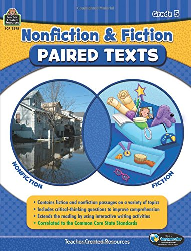 Nonfiction And Fiction Paired Texts Grade 5 Susan Collins