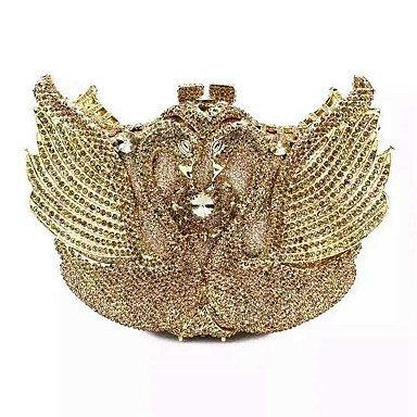 KYS Mujer PU / Metal Formal / Evento/Fiesta / Boda Bolso de Mano , gold Gold